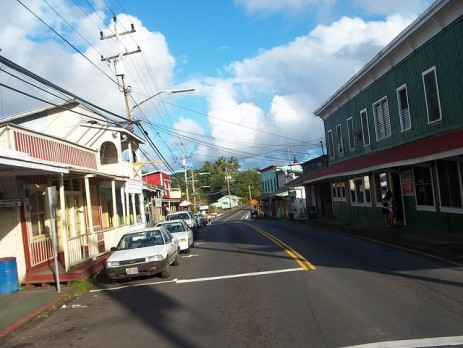 Downtown Pahoa